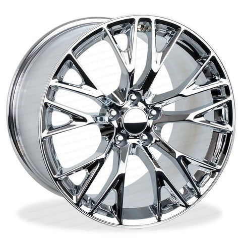C7 Corvette Z06 Style Reproduction Wheels : Chrome,Wheels & Tires