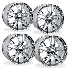 C7 Corvette Z06 Style Reproduction Wheels (Set) : Chrome