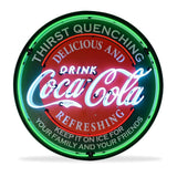 Coca-Cola Evergreen Neon Sign in a Metal Can : 36in