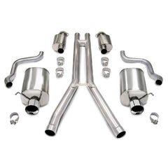 Corsa Touring Axle-Back Corvette Exhaust - Dual 4.0