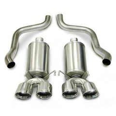 Corsa Corvette Exhaust (14469): Corsa Xtreme High-Performance Axle-Back Quad Exhaust For '05 – '08 C6
