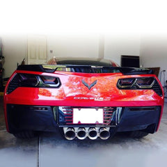 Corvette 5th Brake Light Blackout Lens - Smoked Acrylic : C7 Stingray Z51