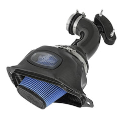 C7 Corvette aFe Black Series Momentum Carbon Fiber Cold Air Intake System : LT1