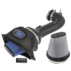 Corvette aFe Black Series Momentum Carbon Fiber Cold Air Intake System : C7 Z06