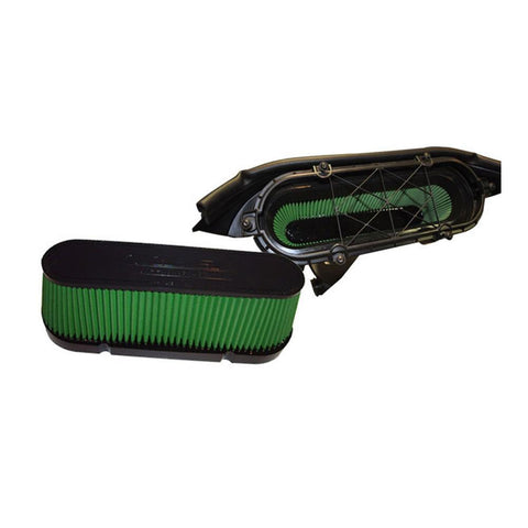 Corvette Air Filter High Performance Green Filter : LS3 & LS7 C6, Z06