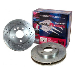 Corvette Baer Brake Rotor Package - Baer Sport Rotors (Set) 1997-2013 C5 & C6