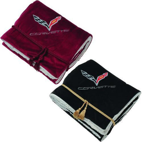 Corvette Blanket - Lamb's Wool Throw : C7