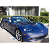 Corvette Bra - Speed Lingerie Color Matched NO License Plate Pocket : 2005-2013 C6,Exterior