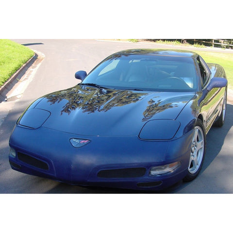 Corvette Bra - Speed Lingerie Color Matched with NO License Plate Window : 1997-2004 C5 & Z06