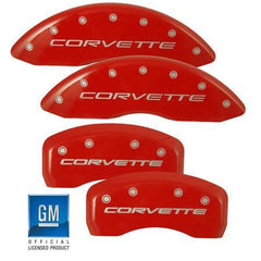 Corvette Brake Caliper Cover Set (4) : 2005-2013 C6 only