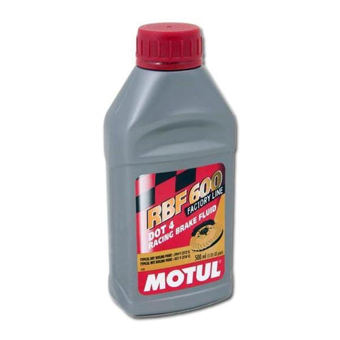 Corvette Brake Fluid - Motul 600 Racing DOT4 - Pint (97-13 C5/C6/Z06/ZR1/GS)
