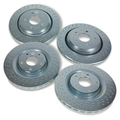 Corvette Brake One Piece Rotor Package - Baer Sport Rotors (Set) : 2005-2013 C6 Z51