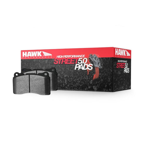 Corvette Brake Pads - Hawk High Performance Street 5.0 - Rear : 1997-2013 C5,C6,Brakes