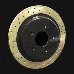 Corvette Brake Rotor Hub Covers - Black (Set) : 1997-2004 C5 & Z06