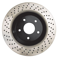 Corvette Brake Rotor Hub Covers - Black (Set) : 2005-2013 C6 Z51