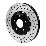 Corvette Brake Rotors - Wilwood 2 Pc. Promatrix Front Replacement Rotor Kit : 2006-2013 Z06 and Grand Sport,Brakes