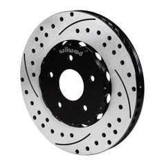 Corvette Brake Rotors - Wilwood 2 Pc. Promatrix Front Replacement Rotor Kit : 2006-2013 Z06 and Grand Sport