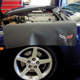 Corvette C6 Fender Protector (Black with Silver C6 Emblem)