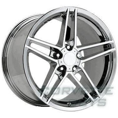Corvette C6 Z06 Style Wheel - Chrome (17x8.5)