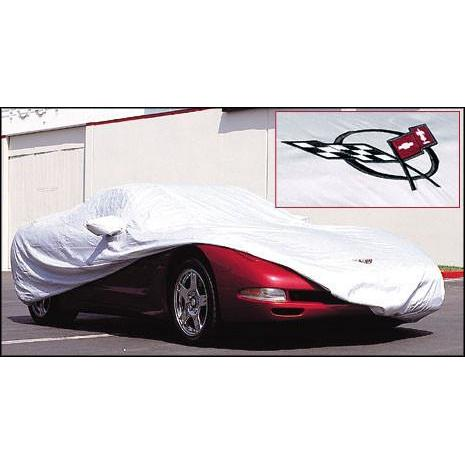 Corvette Car Cover - Intro-Guard with Z06 Emblem (01-04 C5 Z06)