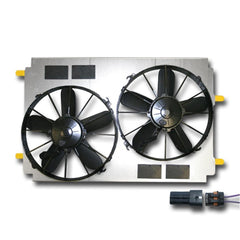 Corvette Cooling Fan Dual Upgrade : 1997-2004 C5 & Z06