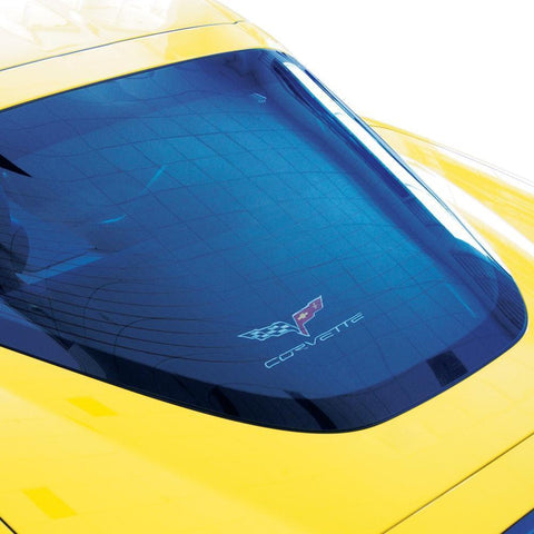 Corvette Coupe Rear Cargo Shade - Black (2005-2013 C6/Z06/ZR1/Grand Sport),Car Care