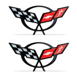 "Corvette Domed Decal 2.375"" x 1.17"" : 1997-2004 C5 Logo"