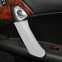 Corvette Door Handle Accent Leather - Arctic White (05-12 C6/Z06/ZR1/Grand Sport)