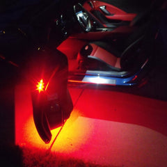 Corvette Door Handle/Under Door Puddle LED Lighting Kit : C7 Stingray, Z51, Z06