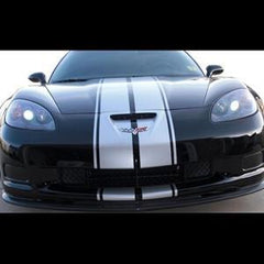 Corvette Driving Light Blackout 2 Pc. (Set) - Acrylic : 2006-2013 Z06