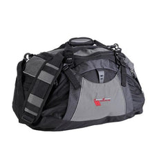 Corvette Duffel Bag Vertex with Grand Sport Logo - Black/Grey : 2010-2013 C6