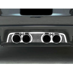 Corvette Exhaust Port Filler Panel - Laser Mesh Stainless Steel for Corsa 4.0