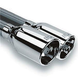 "Corvette Exhaust System - Borla Catback S Type II / 4 4.25""x3.5"" Tips Rolled/Angle Cut 1997-2004 C5 & C5 Z06,Exhaust"