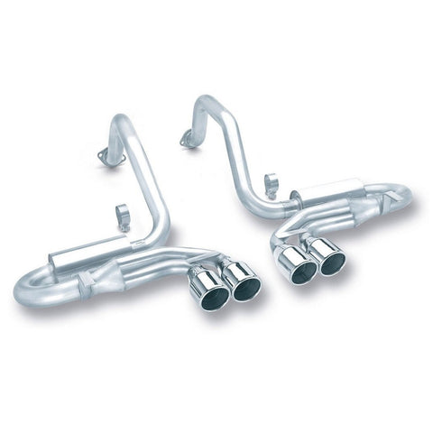 Corvette Exhaust System - Borla Catback S Type/4 Tips 4