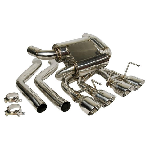 Corvette Exhaust System - Nxt Step Performance - Axle Back : 2005-2013 C6,Exhaust