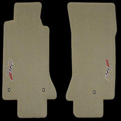 Corvette Floor Mats - Embroidered 2003 50th Anniversary Logo : 1997-2004 C5 & Z06