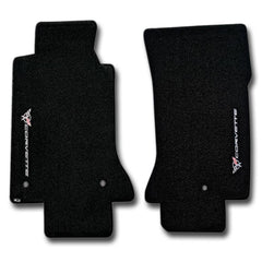 Corvette Floor Mats - Ultimat Sideways Logo : 1997-2004 C5 & Z06