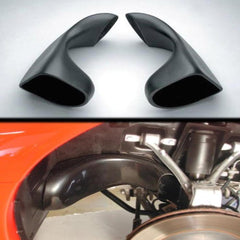 Corvette Front Brake Cooling Duct Extensions : 1997-2004 C5 & Z06