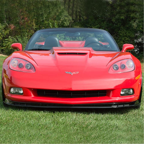 Corvette Front Chin Spoiler with Dual Screens