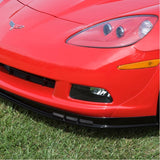 Corvette Front Chin Spoiler with Dual Screens,Exterior