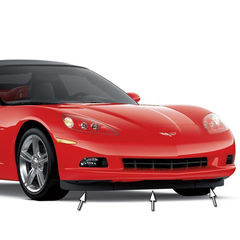 Corvette Front Spoilers - GM Replacement : 2005-2013 C6