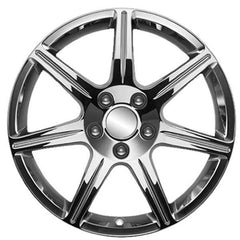 Corvette GM 7 Spoke Wheel Package - Chrome : 2005-2013 C6