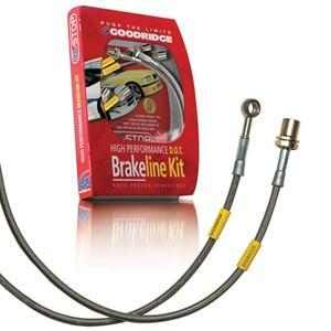 Corvette Goodridge G-Stop Brake Lines - Stainless Steel (Set) 2006-2013 C6 Z06, ZR1, Grand Sport