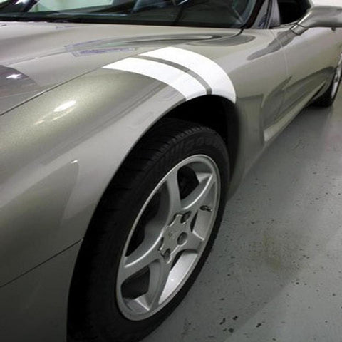 Corvette Grand Sport Fender Stripes / Hash Marks : 1997-2004 C5 & Z06