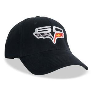 Corvette Hat with 60th Annivarsary Logo,Apparel