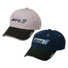 Corvette Hat with ZR1 Logo Two-Toned : 2009-2013 ZR1