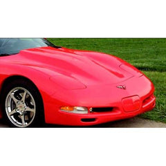 Corvette Hood - Radical High Rise Hood clears Magnuson Supercharger : 1997-2004 C5 & Z06