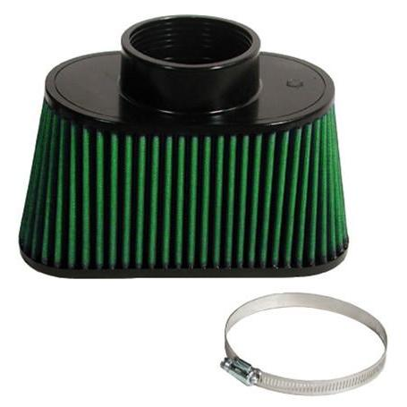 Corvette Hurricane High Flow Filter with Performance Hood Seal : 2001-2004 C5 & Z06