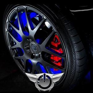 Corvette Illuminated LED Wheel Rings,Wheel & Tire Parts