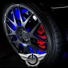 Corvette Illuminated LED Wheel Rings